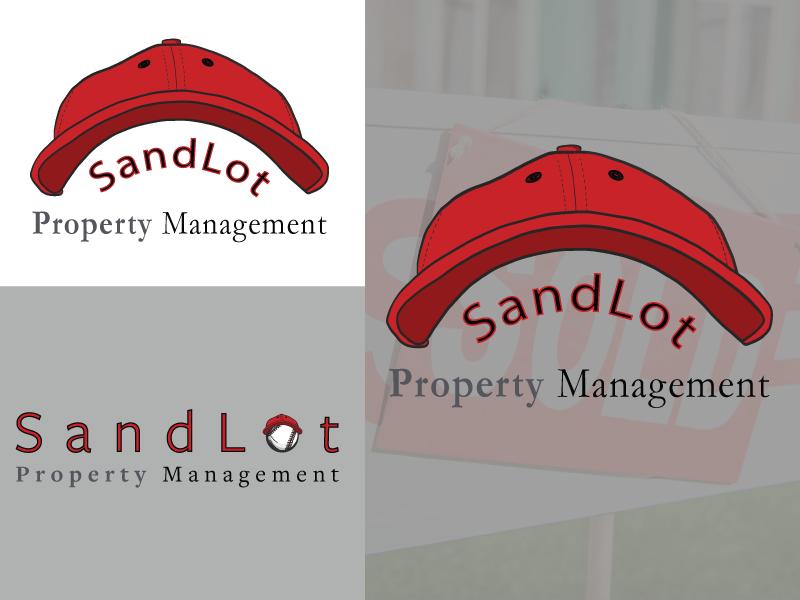 SandLot Property Management property property management sports logodesign logo vector illustrator