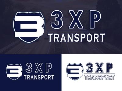 3XP Transport illustrator transportation transport branding vector logodesign logo