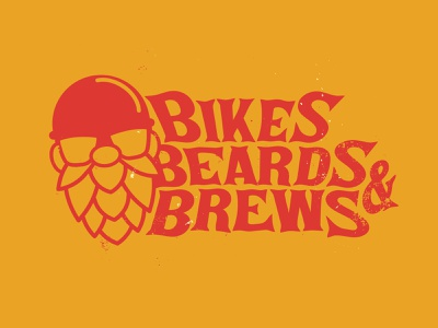 Bikes Beards and Brews Lockup beer content creator youtube video motorcycle