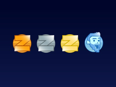 Shaun Zom Gaming Loyalty Badges