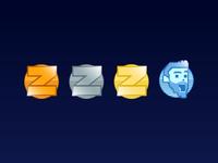Shaun Zom Gaming Loyalty Badges