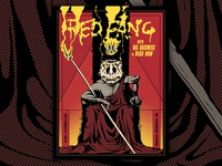 Red Fang Gig Poster