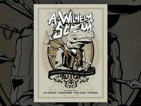 A Wilhelm Scream Gig Poster