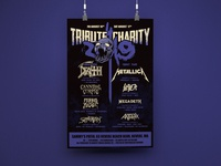 Tribute 4 Charity 2019 Concert Poster