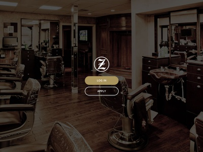 John Zell Home Page ui ux logo web webdesign web design flat
