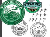 Leftover Farm Logo Bits