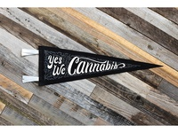 Yes We Cannabis Pennant