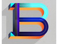 B - Dropcap