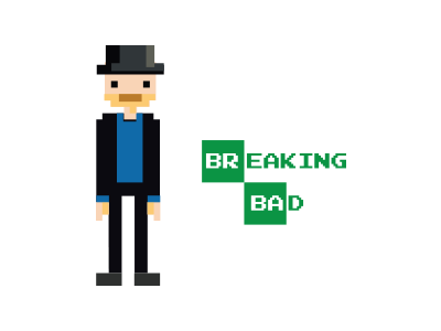 8bit Heisenberg 8 bit breaking bad