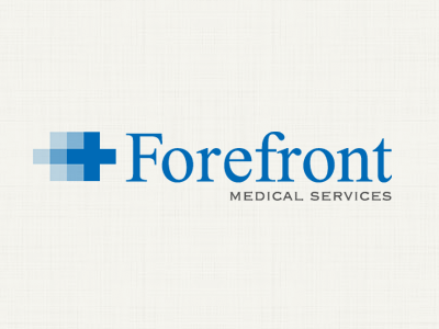 Forefront Medical Services Logo logo design logo