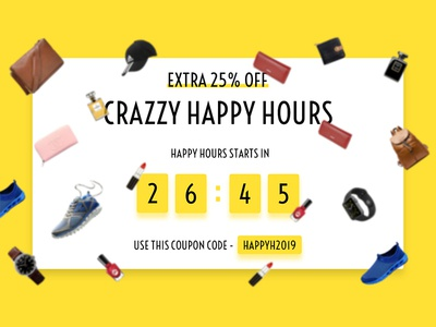Daily ui #014 coupon code floating sale timer sale timer countdown timer