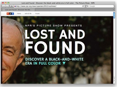 Lost and Found responsive documentary audio interactive popcorn.js jplayer