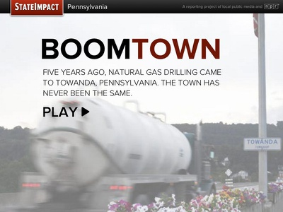 Boomtown tablet mobile responsive documentary audio interactive popcorn.js jplayer