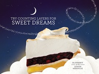 Sweet Dreams - Pie Ad