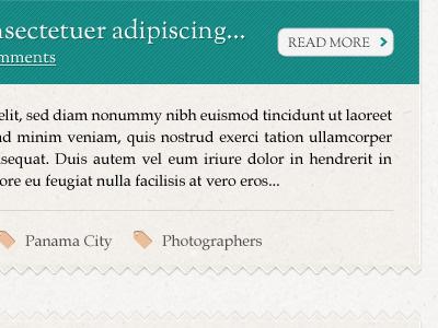 Amy Little Blog Page blog design ui design ui website design