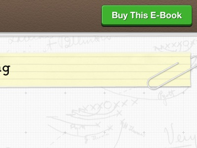 Single page wide layout ui design web design e-book
