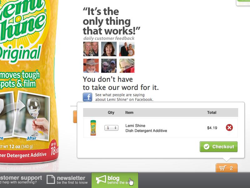 Lemishine.com UI Edits ui photoshop design