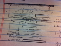 Initial Thought on Layout - Sketch