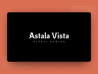 Astala Vista Global Gaming slider loader animation logo typogaphy game website uiux scroll animation cards fortnite pubg the witcher web trending landing page auto animate game design gaming design