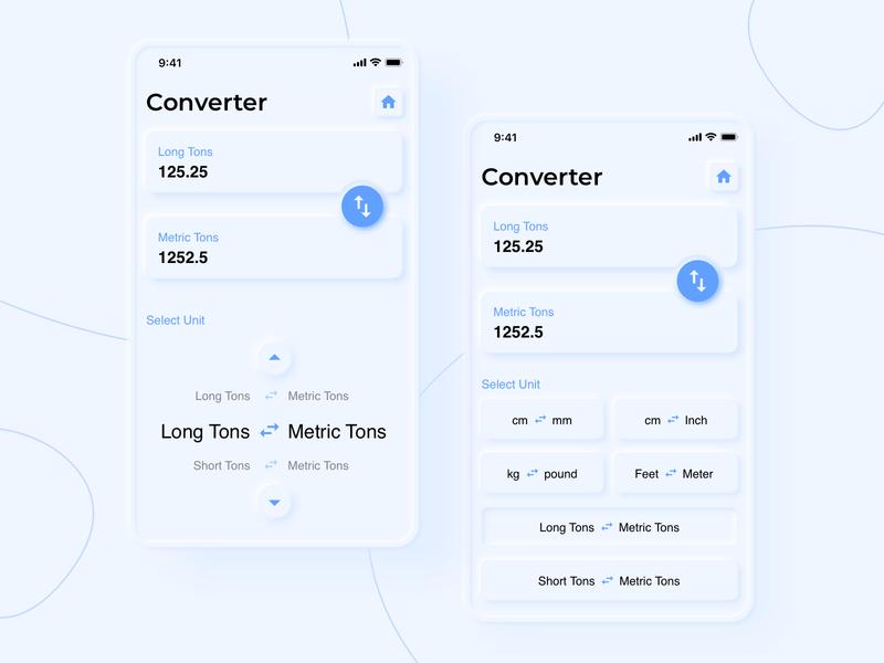 Neumorphism Converter converter neumorphism icon app typography branding gradient ux illustration ui vector design
