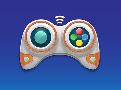 Joystick wireless game remote game object game art gradients graphic design player playstation joystick gamepad gamer game design game remote illustrator artwork icon logo gradient illustration ui vector design