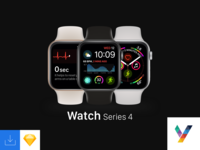 Watch Series 4 Mockup