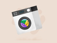 Kawaii Washing Machine