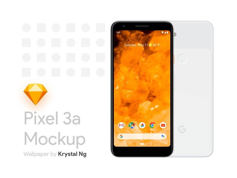 Pixel 3a Mockup [Sketch] by Yudiz Solutions Pvt Ltd on Dribbble