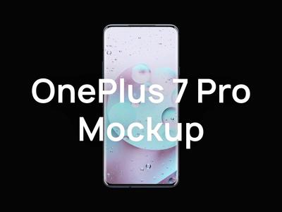 [Sketch] OnePlus 7 Pro Mockup