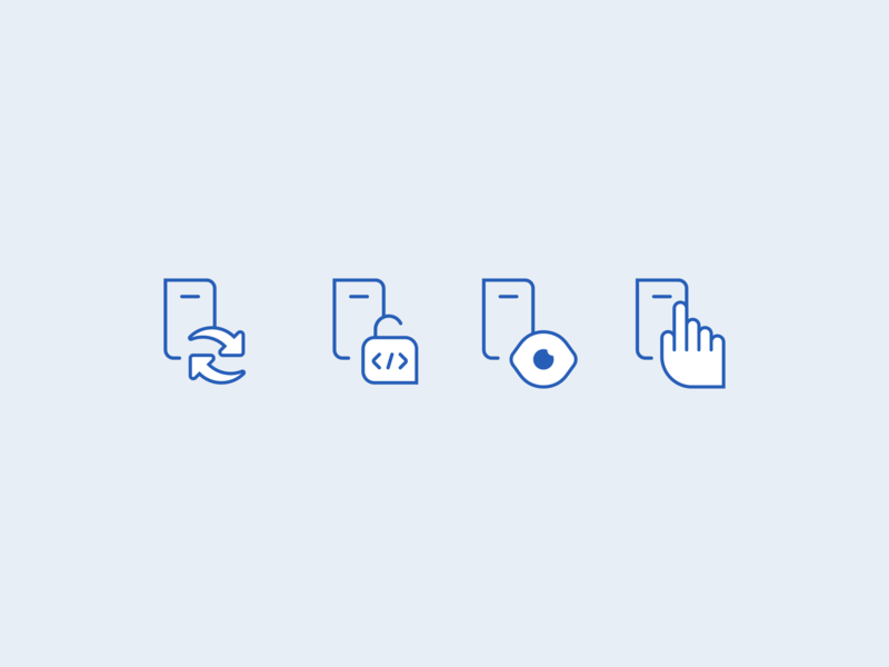 Device Security Icons ui vector grid pixel icon set icon mobile branding design illustration security