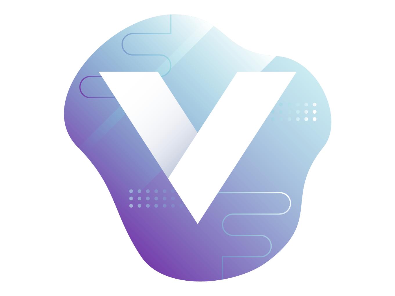 Hero Illustration web lettering gradients gradient letter vector logo branding ui design illustration