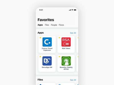 Explore Page ios app design ux mobile interaction motion ui