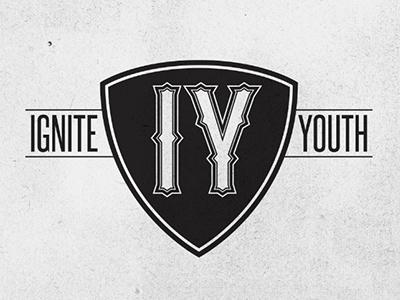Ignite Youth type logo shield