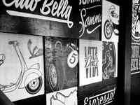 Caffe Wall Graphic