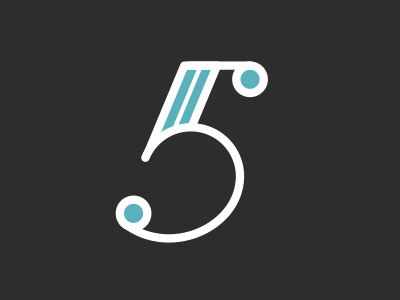 5 5 lettering type number