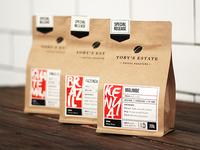 200g coffee bags