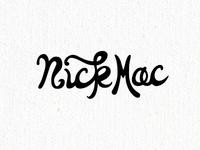 Maybe a Nick Mac logo.