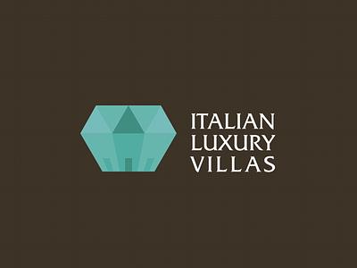 ILV logo logo diamond houses villas luxury