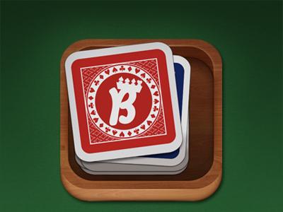 Card game iPad icon cards icon ipad card game