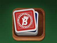 Card game iPad icon