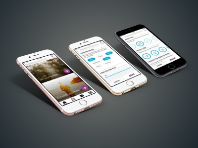 MyEAP Round 2 user experience design mobile iphone ios flat designer ui ux application interface app