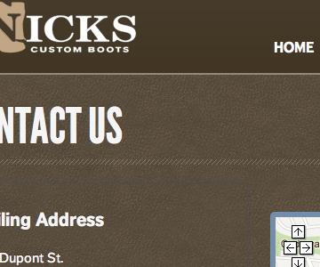 Nick's Custom Boots Refresh