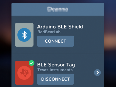 Bluetooth Low Energy bluetooth ble ios