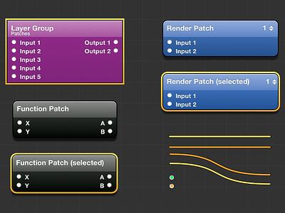 Quartz Composer Sketch Kit quartz composer sketch origami patches slc cocoaheads freebie