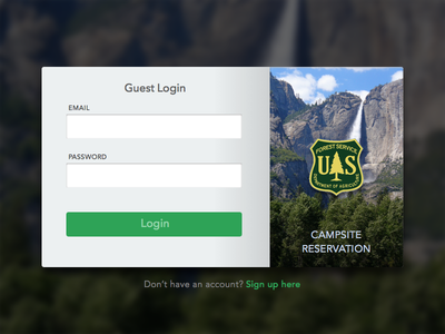 Day 1: Sign In daily ui sign-in dailyui