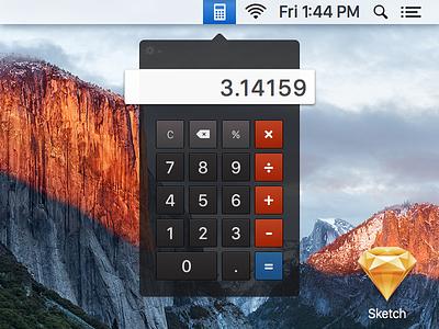Day 4: Calculator os x calculator dailyui