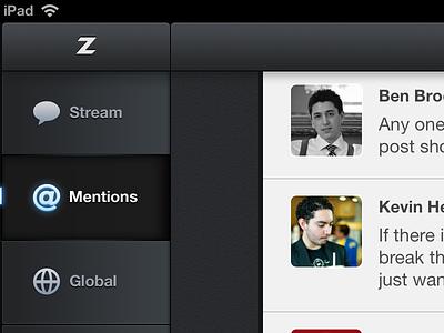 Zephyr iPad zephyr appdotnet