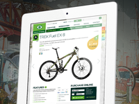 Bike (product) detail page