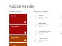 Adobe Reader Win 8.1