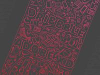 Dribbble @ Adobe XD • Poster